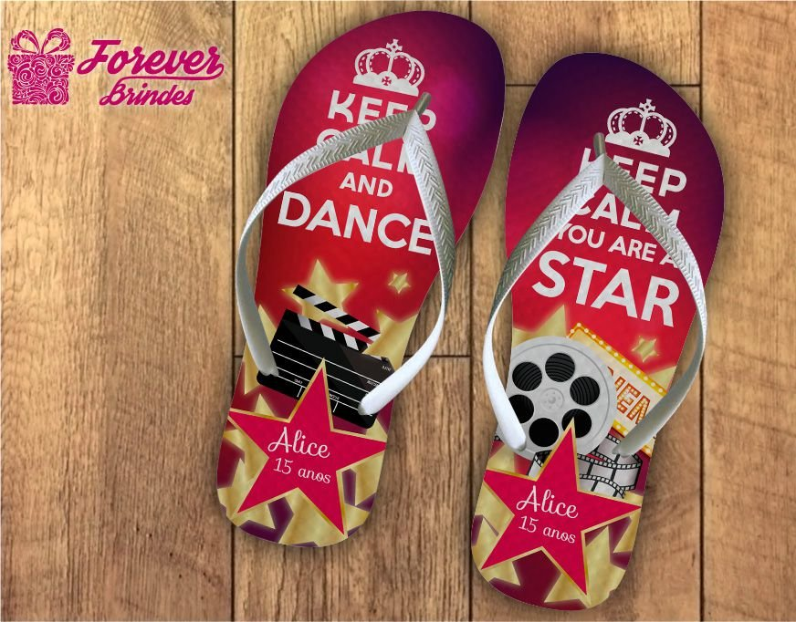 chinelo 15 anos super star