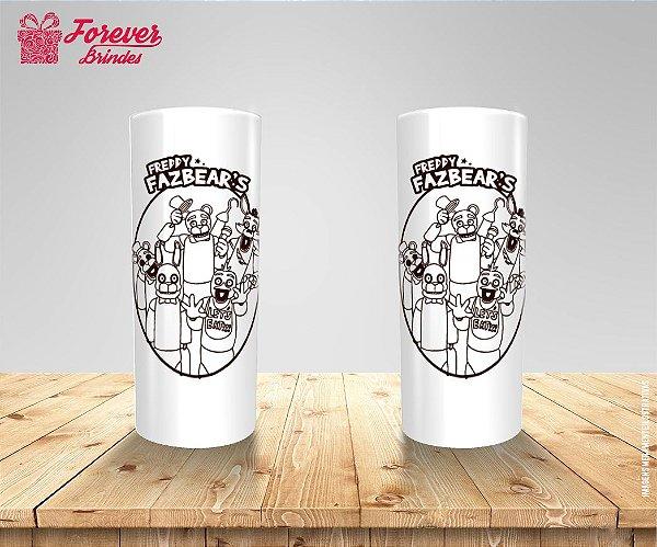 Copo Long Drink Five Nights Freddy's