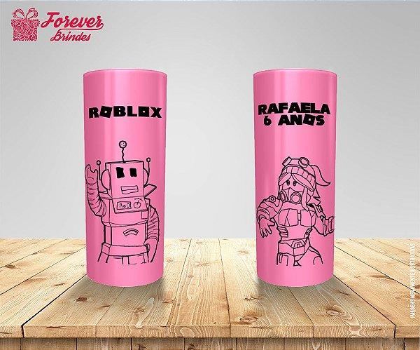 Copo Long Drink Aniversário Roblox