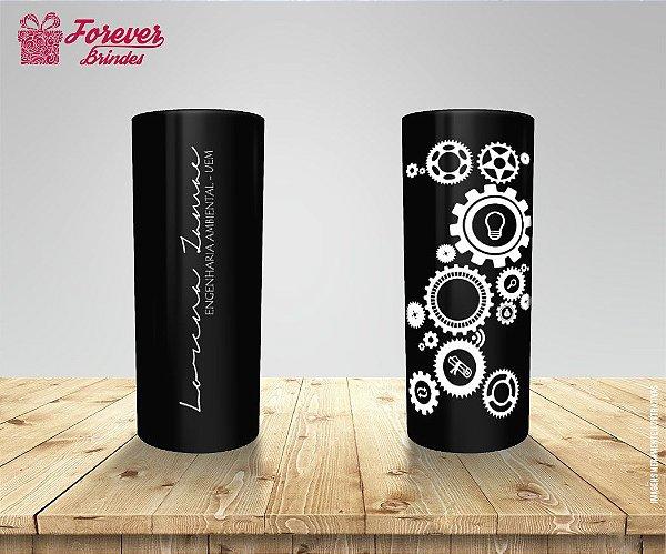 Copo Long Drink Formatura Engenharia Ambiental
