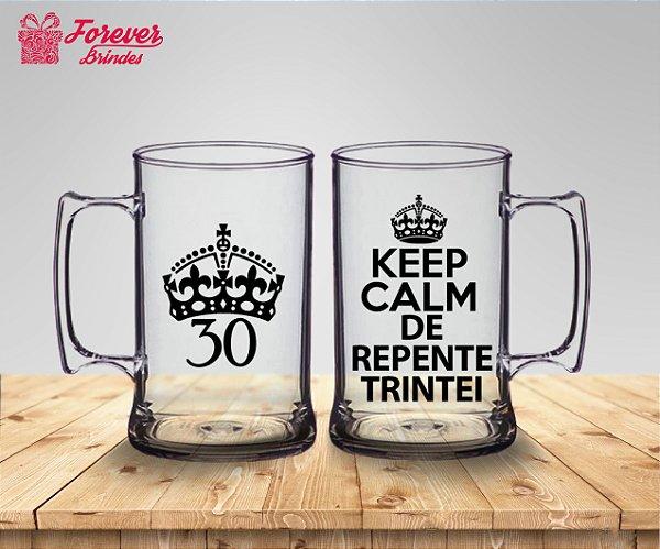 Caneca De Chopp Aniversário 30 Anos De Repente Trintei
