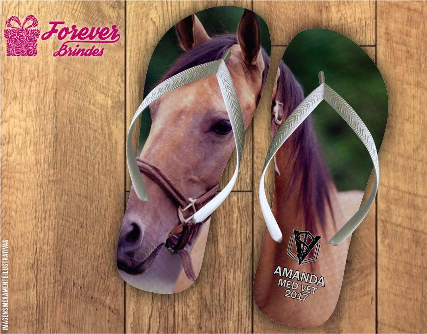 Chinelo Formatura medicina veterinária cavalo mangalarga