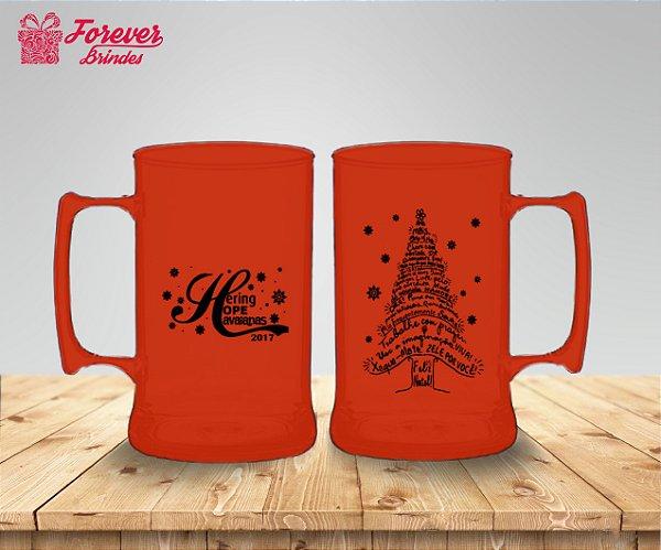 Caneca De Chopp Natal Árvore Natalina
