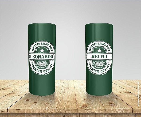 Copo Long Drink Aniversário Logo Heineken