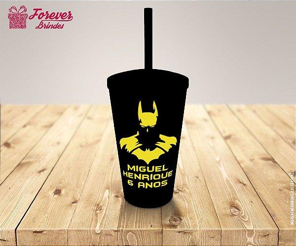 Copo Twister Personalizado Do Batman