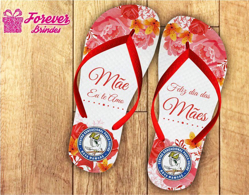 Chinelo Dia Das Mães multi flores