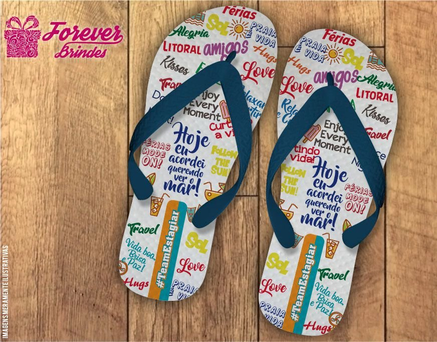 Chinelo Personalizado Férias Mode On