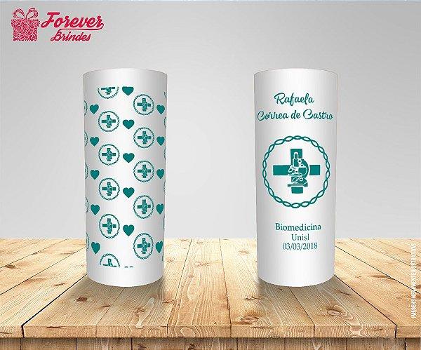 Copo Long Drink Formatura Biomedicina