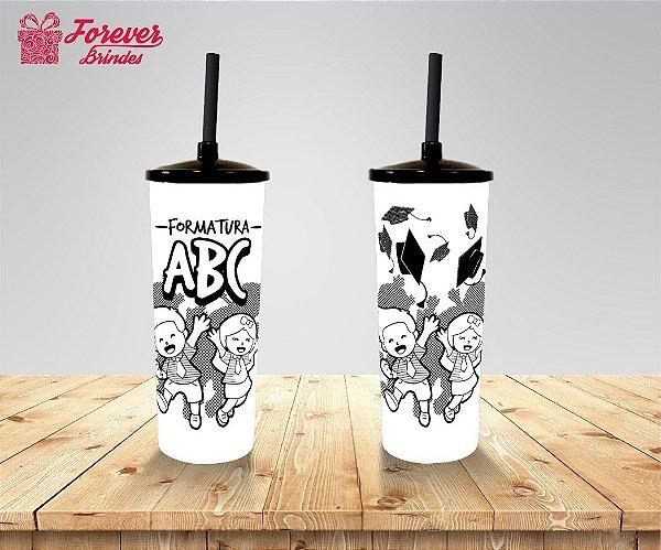 Copo Long Drink Personalizado Formatura ABC