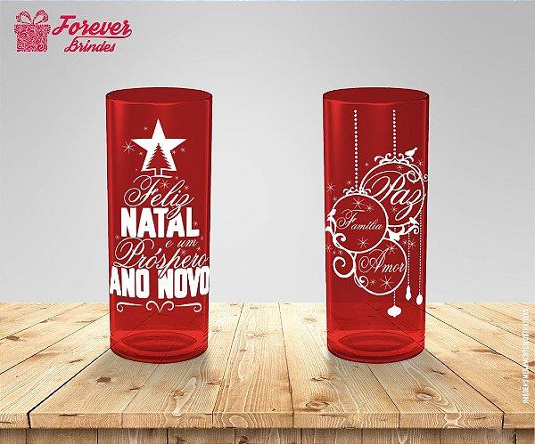 Copo Long Drink Natal e Ano Novo