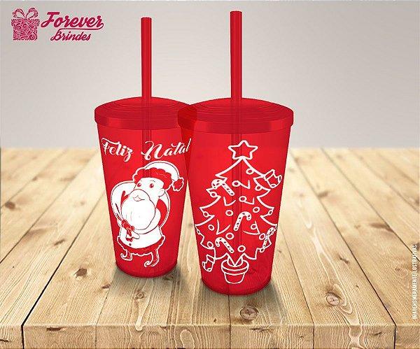 Copo Twister Personalizado De Natal