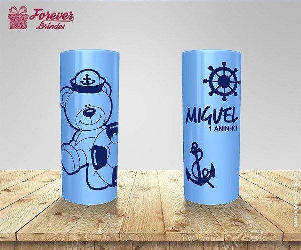 Copo Long Drink Urso Marinheiro