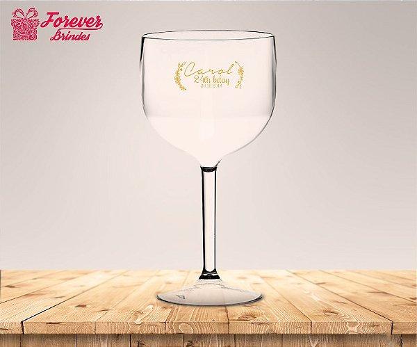 Taça Gin De Aniversário Personalizada