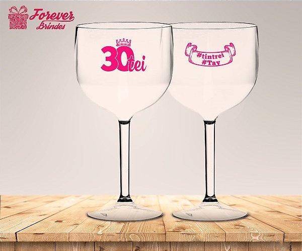 Taça Gin Personalizada 30 anos