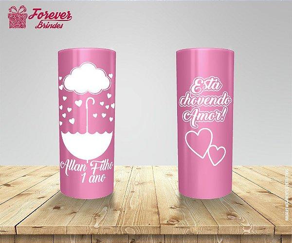 Copo Long Drink Chuva de Amor