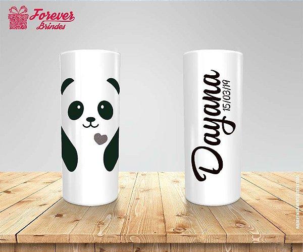 Copo Long Drink Aniversário Panda