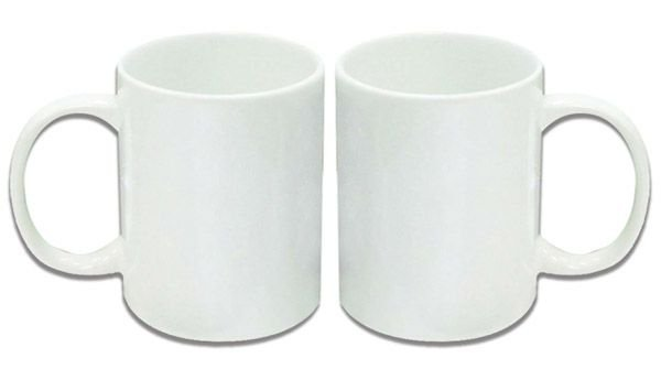 Caneca de Porcelana Com 36 Peças Branca - Para Sublimação