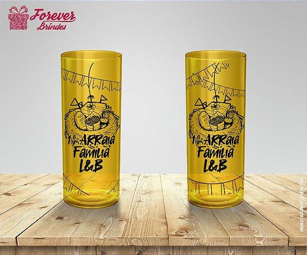Copo Long Drink Festa Junina