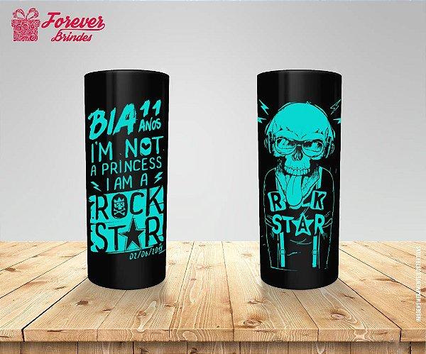 Copo Long Drink Personalizado Rock Star