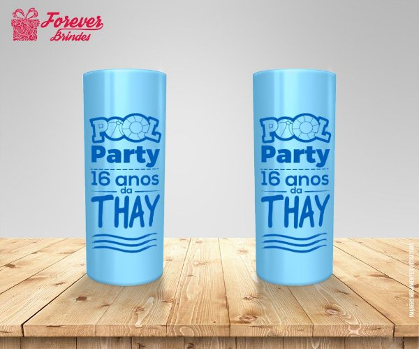 Copo Long Drink Personalizado Pool Party