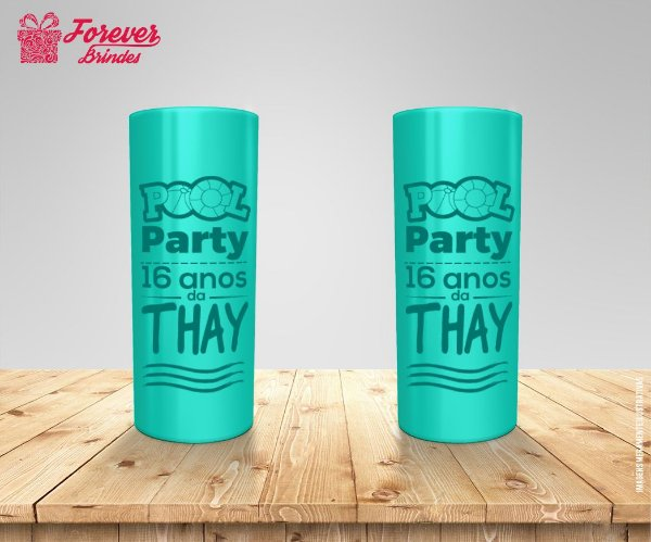 Copo Long Drink Pool Party Tiffany