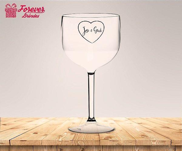 Taça Gin Personalizada de Casamento