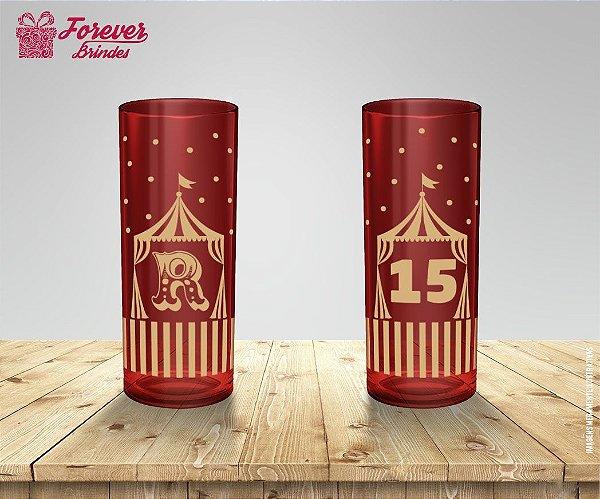 Copo Long Drink Festa Infantil De Circo