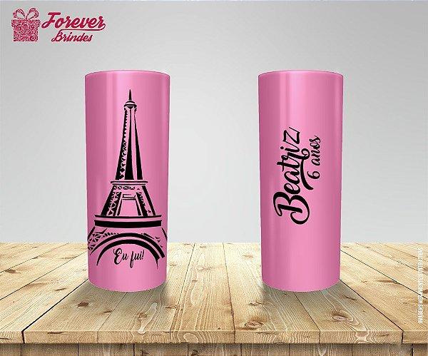 Copo Long Drink Tema Paris