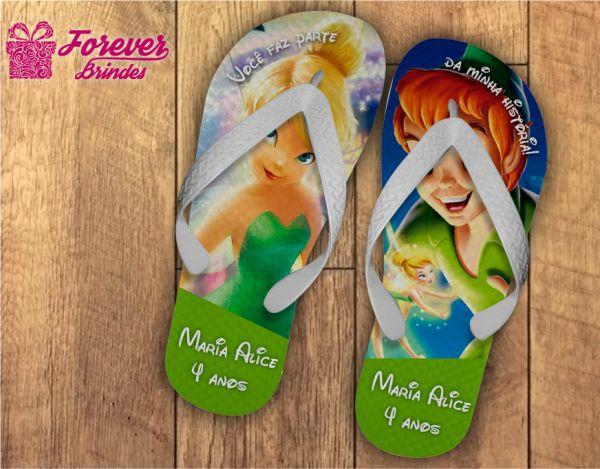 Chinelo Personalizado Do Peter Pan