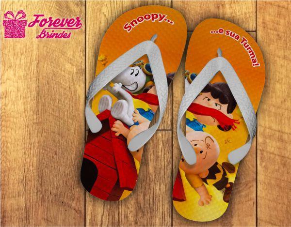 Chinelo Personalizado Do Snoopy