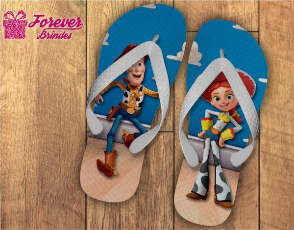 Chinelo Do Toy Story De Aniversário