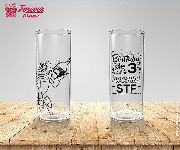 Copo Long Drink Personalizado De Aniversário