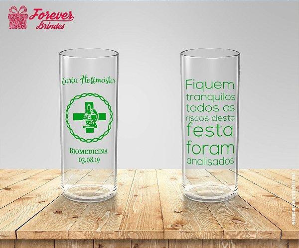 Copo Long Drink Personalizado De Biomedicina
