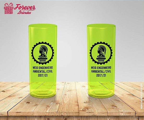 Copo Long Drink De Engenharia Ambiental E Civil