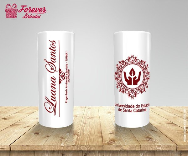 Copo Long Drink Personalizado De Engenharia Ambiental