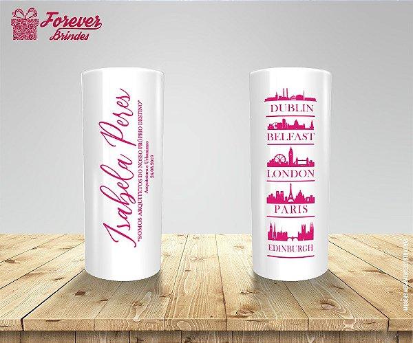 Copo Long Drink Formatura De Arquitetura e Urbanismo