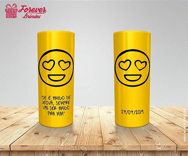 Copo Long Drink Personalizado Emoji