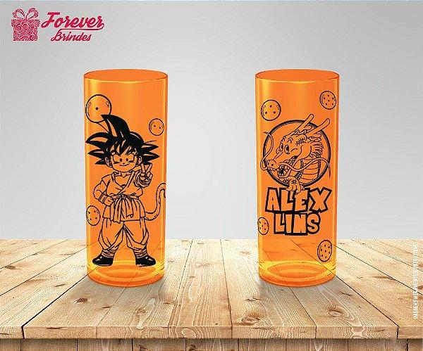 Copo Long Drink Personalizado Dragon Ball