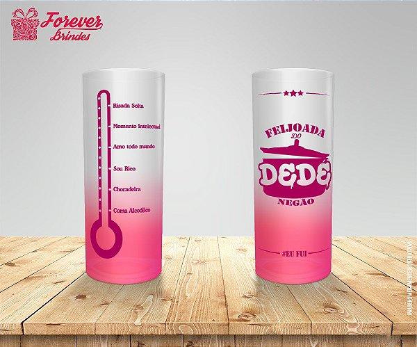 Copo Long Drink Degradê De Feijoada
