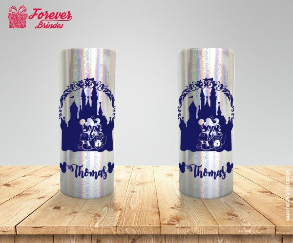 Copo Long Drink Holográfico Da Disney Mickey