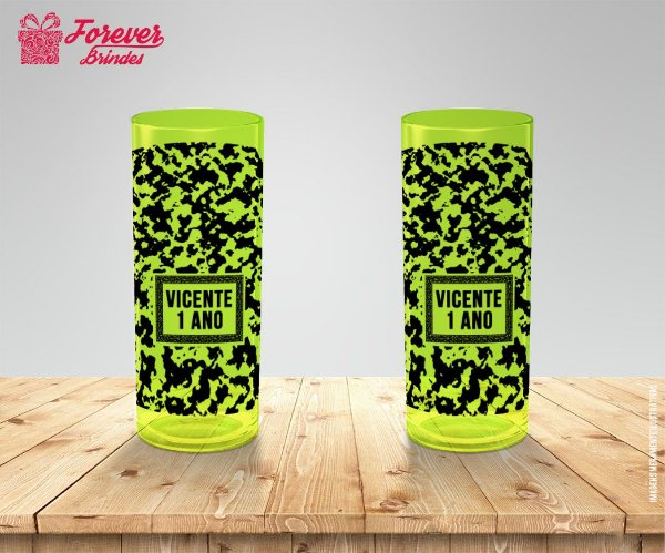 Copo Long Drink Personalizado Safari