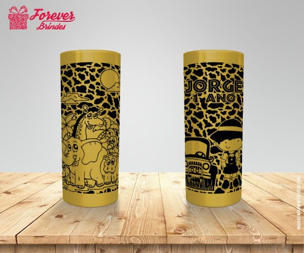 Copo Long Drink De Safari Personalizado
