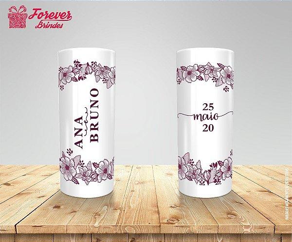 Copo Long Drink  Personalizado de  Casamento