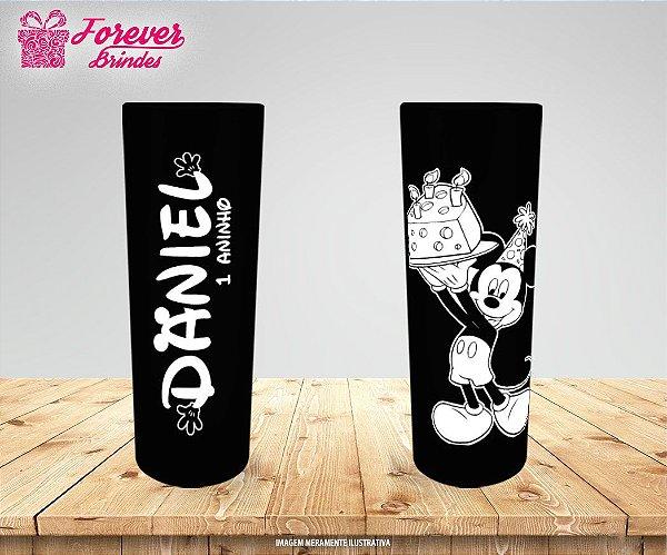 Copo Long Drink Personalizado  Aniversário Mickey