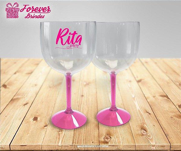 Taça De Gin Haste Rosa Party