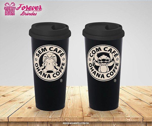 Copo Eco Café - Stitch Com e sem Café