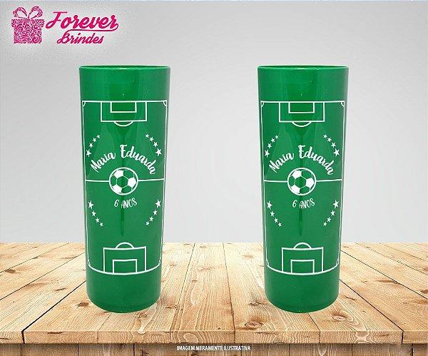 Copo Long Drink Campo de futebol