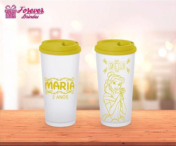 Copo Eco Café Princesa Bela
