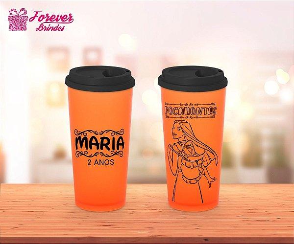 Copo Café Princesa Pocahontas