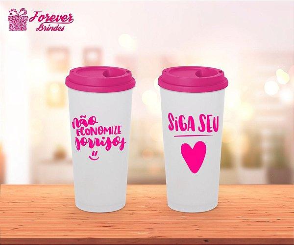 Copo Café Siga Seu Coração